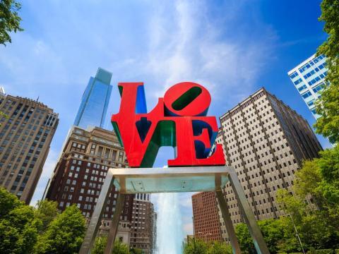 Love Park.