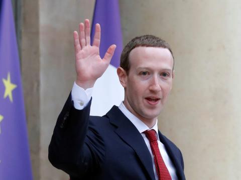 Mark Zuckerberg en París