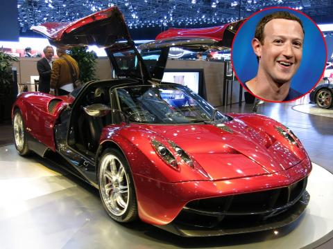 Mark Zuckerberg tiene un deportivo de 1,3 millones de dólares