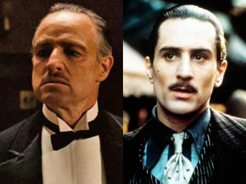 Marlon Brando y Robert De Niro son los únicos que han ganado Oscars al interpretar el mismo papel: Vito Corleone, en 'El Padrino' y 'El Padrino II', respectivamente