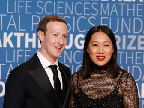 Matrimonio Chan y Zuckerberg