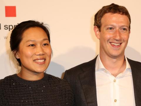 Matrimonio Zuckerberg