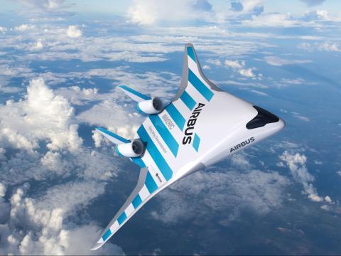 El Maveric solo tiene un ala grande y ningún fuselaje separado.