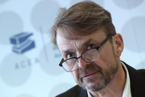 Michael Manley, CEO de Fiat Chrysler.