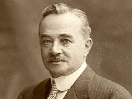 Milton Hershey fundó Hershey's.