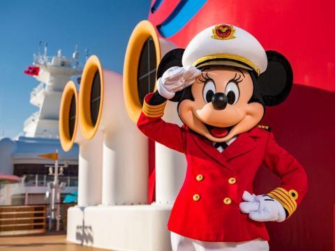 La Capitana Minnie navega ahora en los cuatro barcos de DCL.