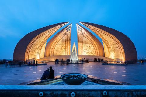 El Monumento a las 4 Provincias de Pakistán, en Islamabad