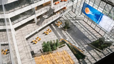 Oficina de We Work en el South East Financial Center de Miami