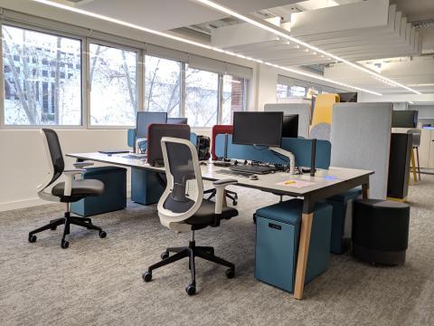 oficinas de Steelcase