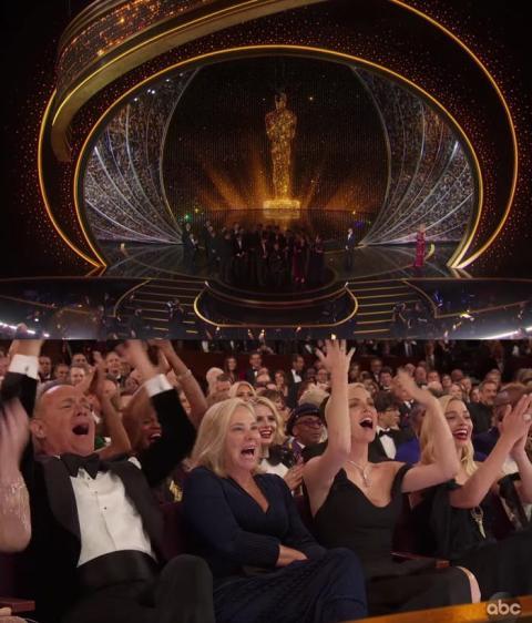 Tom Hanks, Charlize Theron y Margot Robbie entre las estrellas que exigieron que se volvieran a encender las luces en el Dolby Theatre.