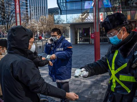 Over in China, about 60% of employees at Beijing Chuckong Technology, a game developing company, are currently working from home because of the outbreak.