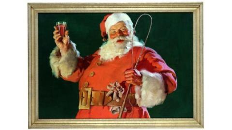 Papá Noel y Coca-Cola