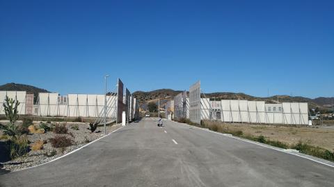 Parte del circuito de los 51.000 kilómetros cuadrados que ha desarrollado Telefónica en Málaga para probar el coche conectado.