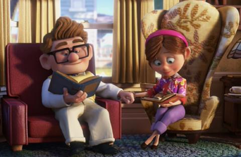 Up, película Disney Pixar