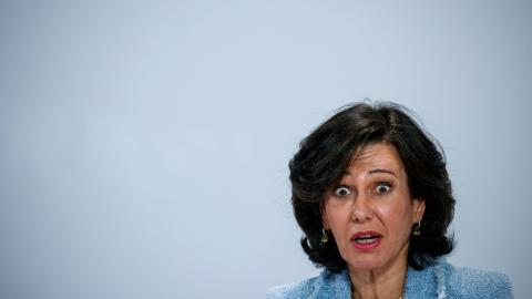 La presidenta ejecutiva del banco Santander, Ana Botín.