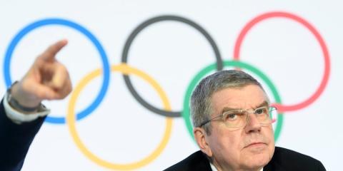 El presidente del Comité Olímpico Internacional (COI), Thomas Bach.