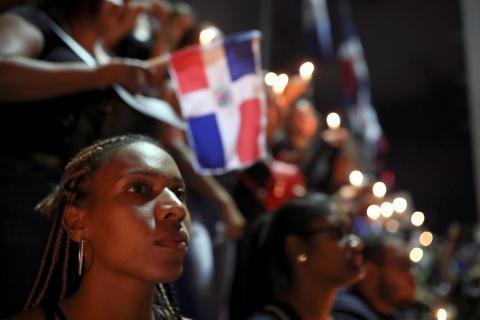 Protestas en República Dominicana.