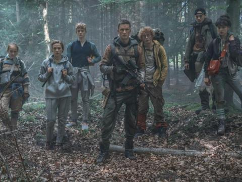 La serie está filmada en danés.