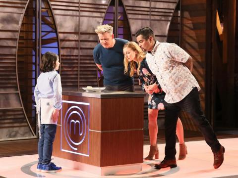"Ramsay has shown viewers his warmer side on ""MasterChef Junior."""