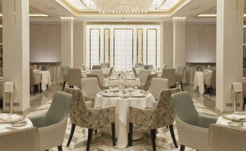 Restaurante Compass Rose en el Seven Seas Splendor.