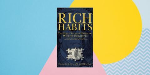 """""""Rich Habits: The Daily Success Habits of Wealthy Individuals"""" ('Hábitos ricos: los hábitos de éxito diario de individuos ricos') por Thomas Corley"""