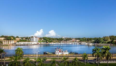 Puerto de Santo Domingo, República Dominicana.
