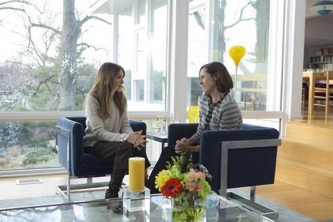 Sarah Jessica Parker y Molly Shannon en 'Divorce'.