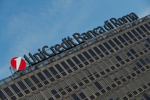 La sede central de Unicredit, en Roma (Italia).