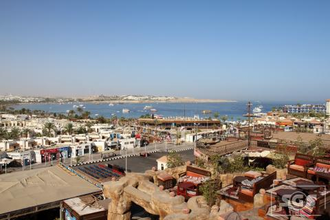 Sharm el Sheikh, en el sur de la Península del Sinaí