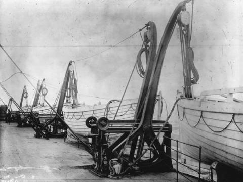 Los botes del Titanic