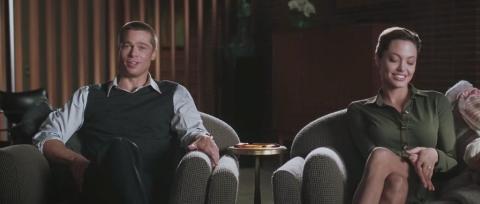 Brad Pitt y Angelina Jolie en 'Sr. y Sra. Smith'.