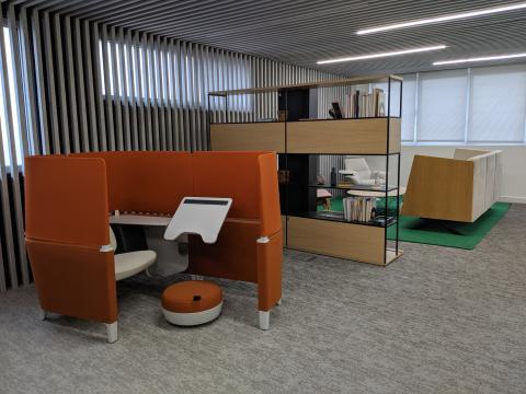 oficinas steelcase Madrid