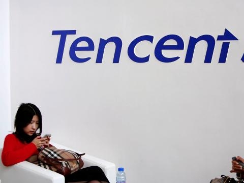 Tencent, a Chinese video game company, has asked its staff in Mainland China to work from home.
