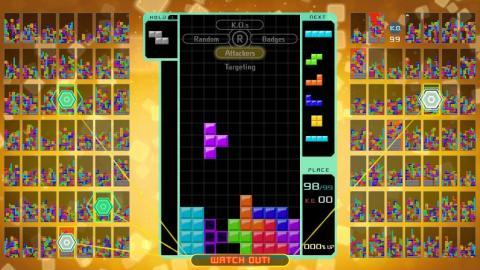 Tetris 99 para la Nintendo Switch.