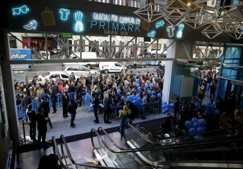 Tienda flagship de Primark en Gran Vía