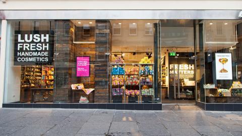 La tienda de Lush en Buchanan Street en Glasgow