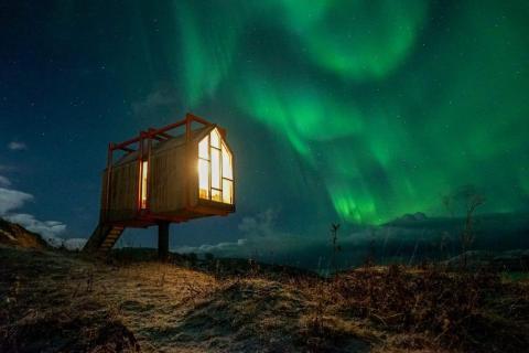 The Arctic Hideaway.