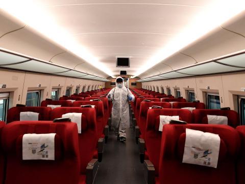 Ferrocarril de alta velocidad de Zhengzhou.
