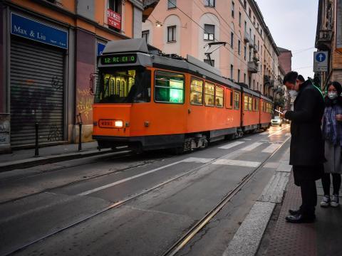 Tranvía de Milán.