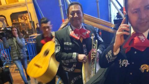 Tres mariachis contratados por Forocoches.