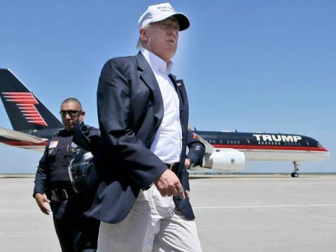 Trump avion