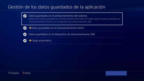 Tutorial guardar datos PS4
