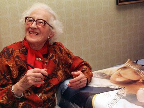 Millvina Dean en 1998