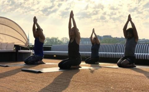 U by Uniworld yoga.