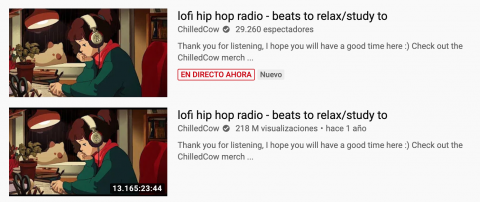 El vídeo más largo de YouTube en 2020.