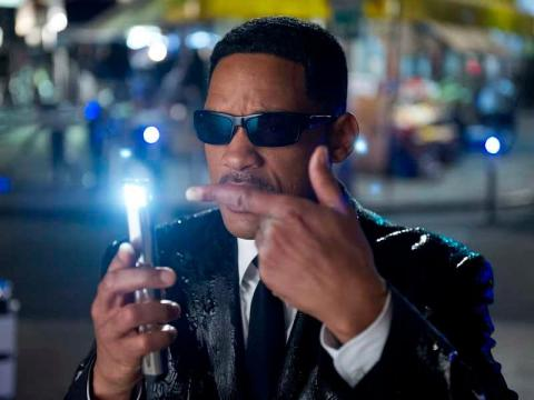 "1. Will Smith as Agent J in ""Men in Black 3"""