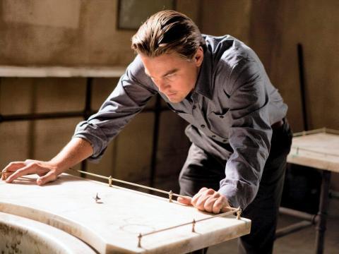 """12. Leonardo DiCaprio as Dom Cobb in """"Inception"""""""