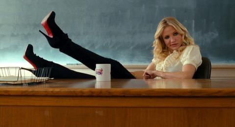 "13. Cameron Diaz as Elizabeth Halsey in ""Bad Teacher"""