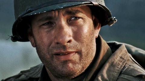 "14. Tom Hanks as Captain John Miller in ""Saving Private Ryan"""