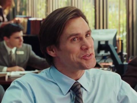 """16. Jim Carrey as Carl Allen in """"Yes Man"""""""
